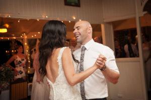 mavis kitchen wedding reception first dance