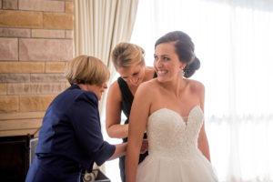 intercontinental wedding bride