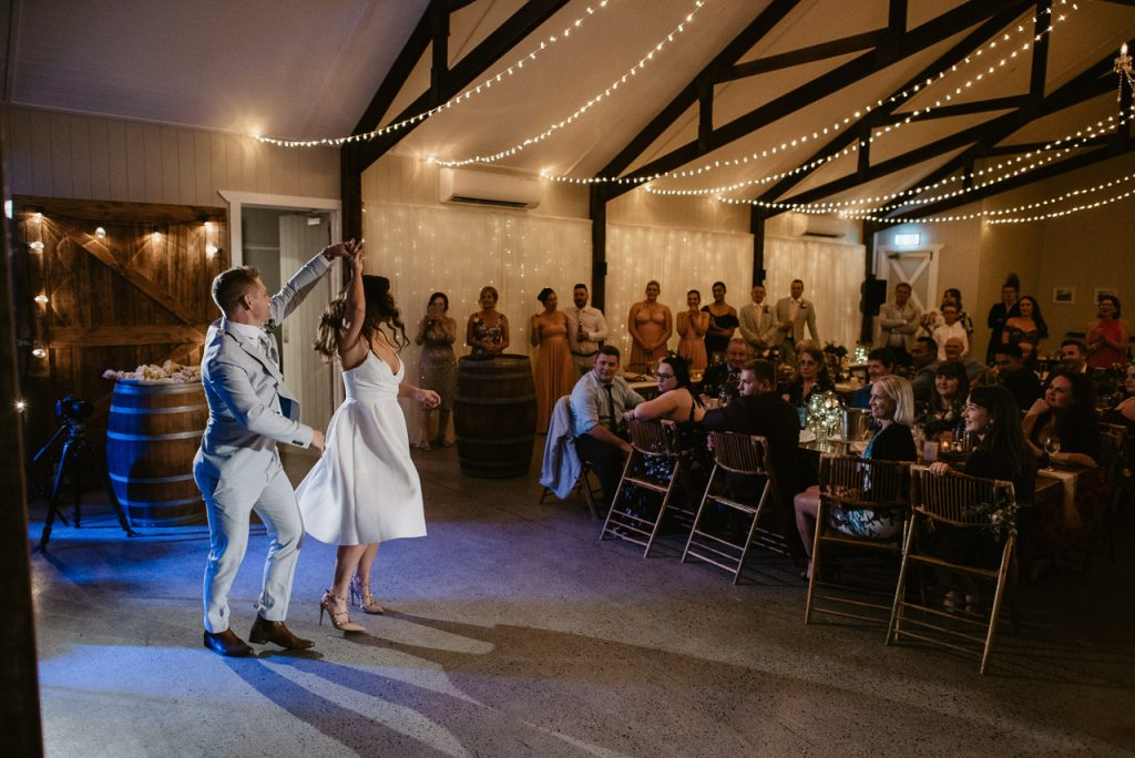 cowbell creek wedding reception